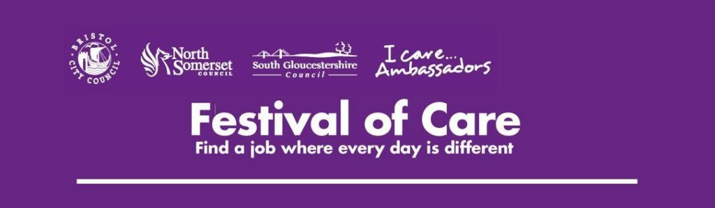 Festival of Care - Find a job where every day is different
